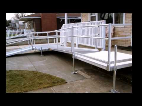 Modular Wheelchair Ramps | Aluminum
