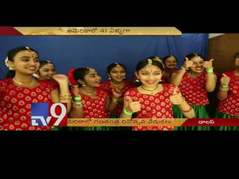 India's 68th Republic Day celebrations in Dallas - USA - TV9