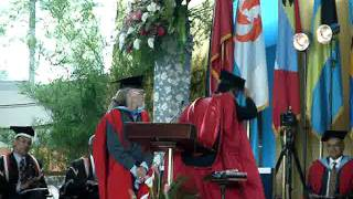 Honorary Doctor of Letters degree for Roy Cape
