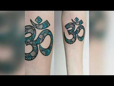 Top 10  latest  ऊँ  om  tattoo design