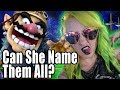 Wife TRIES to name all the Super Smash Bros Ultimate Characters