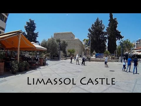 CYPRUS: Limassol City Castle & Old Port (Lemesos) [HD]