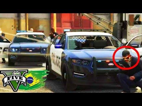 GTA V: BRASIL ROLEPLAY - O ENQUADRO ÉPICO da POLÍCIA!!! #100 Parte 01