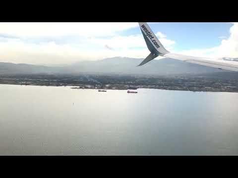 Landing At Norman Manley International Airport, Kingston Jamaica - August 30, 2017