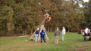 2013 James Family Chili & Soup Cookoff - Trebuchet Pumpkin Chunkin