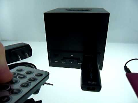 MP3 Integrated Amp Cube