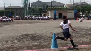 優奈中2 運動会  クラス対抗リレー  2017/5/27 thumbnail