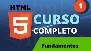 Curso de HTML y HTML 5 parte 1 - Fundamentos de HTML