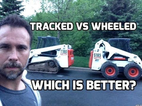 Heavy Equipment Comparison Tracked vs Wheeled Skid Steer.