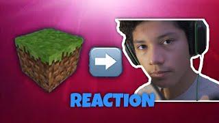 Reacting to Minecraft on Windows 2000