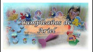 Ideas  Para CumpleaÑos De Ariel   Amada Princesa