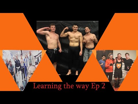 Learning The Way: Ep 2 | Sparring | Kickboxing/Boxing |