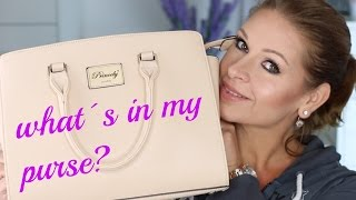 Whats in my bag | Was ist in meiner Handtasche | Mamacobeauty