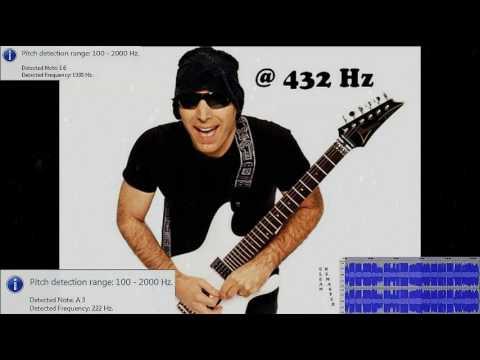 """Best of"" @ 432 Hz: Joe Satriani"