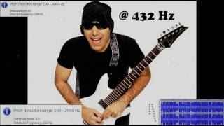 """Best of"" @ 432 Hz: Joe Satriani"