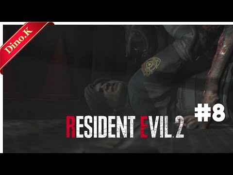 Dino.K)RESIDENT EVIL 2 : BIOHAZARD RE2 Ep.8 How To Train Your Zombie Dog! |