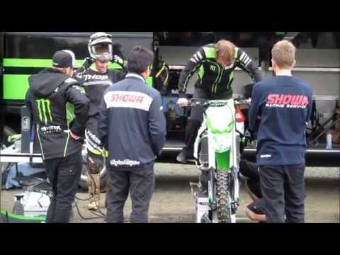 testing team kawasaki monster energy