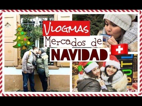 """Mercados de Navidad Basilea Suiza"""" 🇨🇭 l VLOGMAS🎄VLOGS A LA PARISINA!! 🇫🇷"""