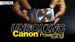 Canon PowerShot ELPH 160 UNBOXING! For Youtubers