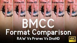 Blackmagic Cinema Camera Format Comparison