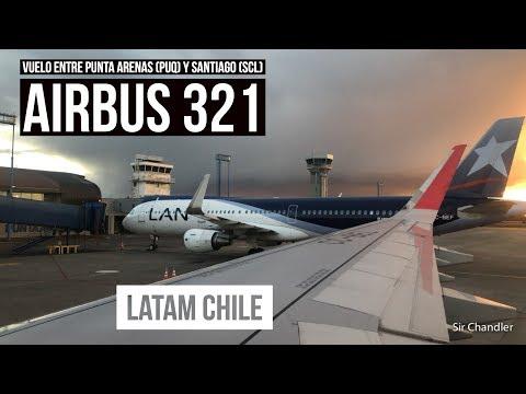 Punta Arenas Santiago - Latam Airbus 321