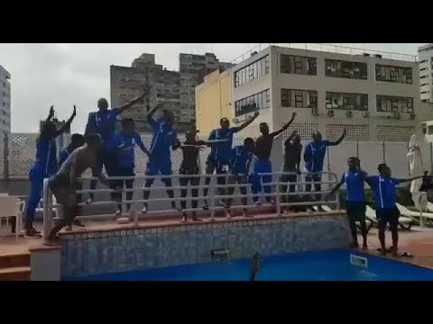 Irebe  uburyo abakinnyi  ba Rayon Sport babayeho neza mu gihugu cya Mozambique