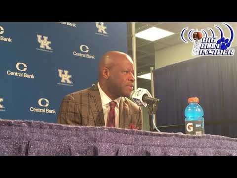 Mike Anderson post Kentucky