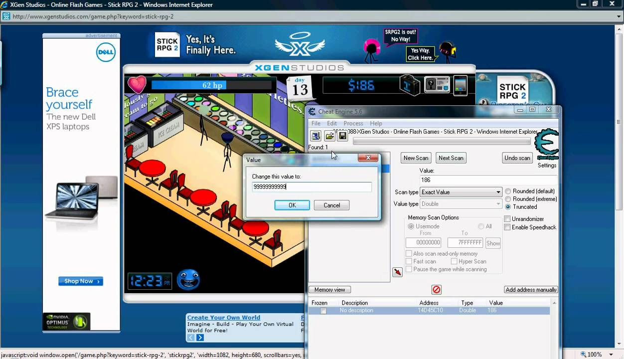 How to hack stick rpg 2 using cheat engine - meaning of