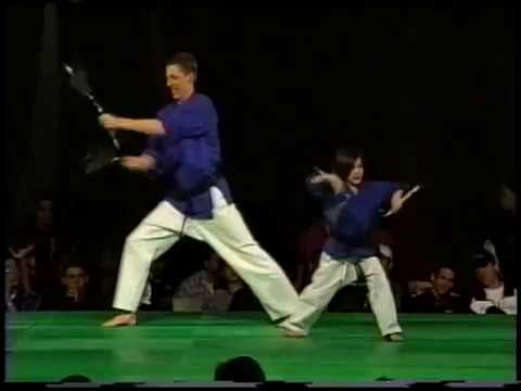 David Moss and Gemma Nguyen Snyc forms 1998 Charlie Lee Nationals Karate