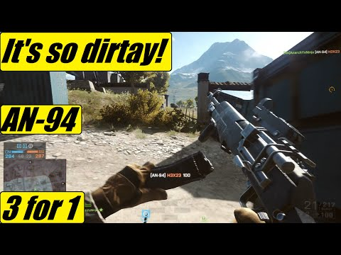BF4 - IT'S SO DIRTAY!! | AN-94 Did Not Let Me Down! | Laggy Ppl Get Owned!