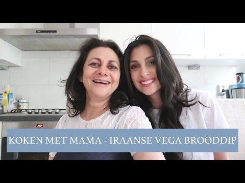 KOKEN MET MAMA - IRAANSE VEGETARISCHE BROODDIP - Anna Nooshin