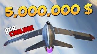 GTA ONLINE - КУПИЛИ И УГАРНУЛИ V-65 MOLOTOK ЗА 5000000$ #332