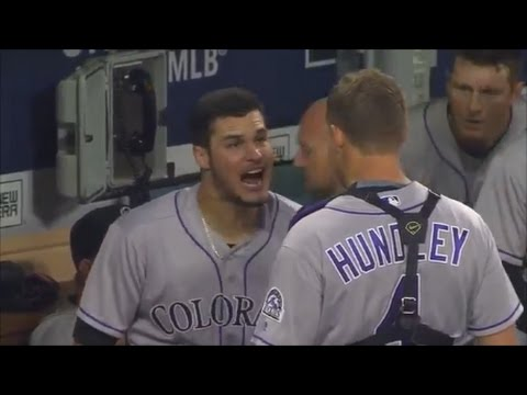 MLB Teammate Fights