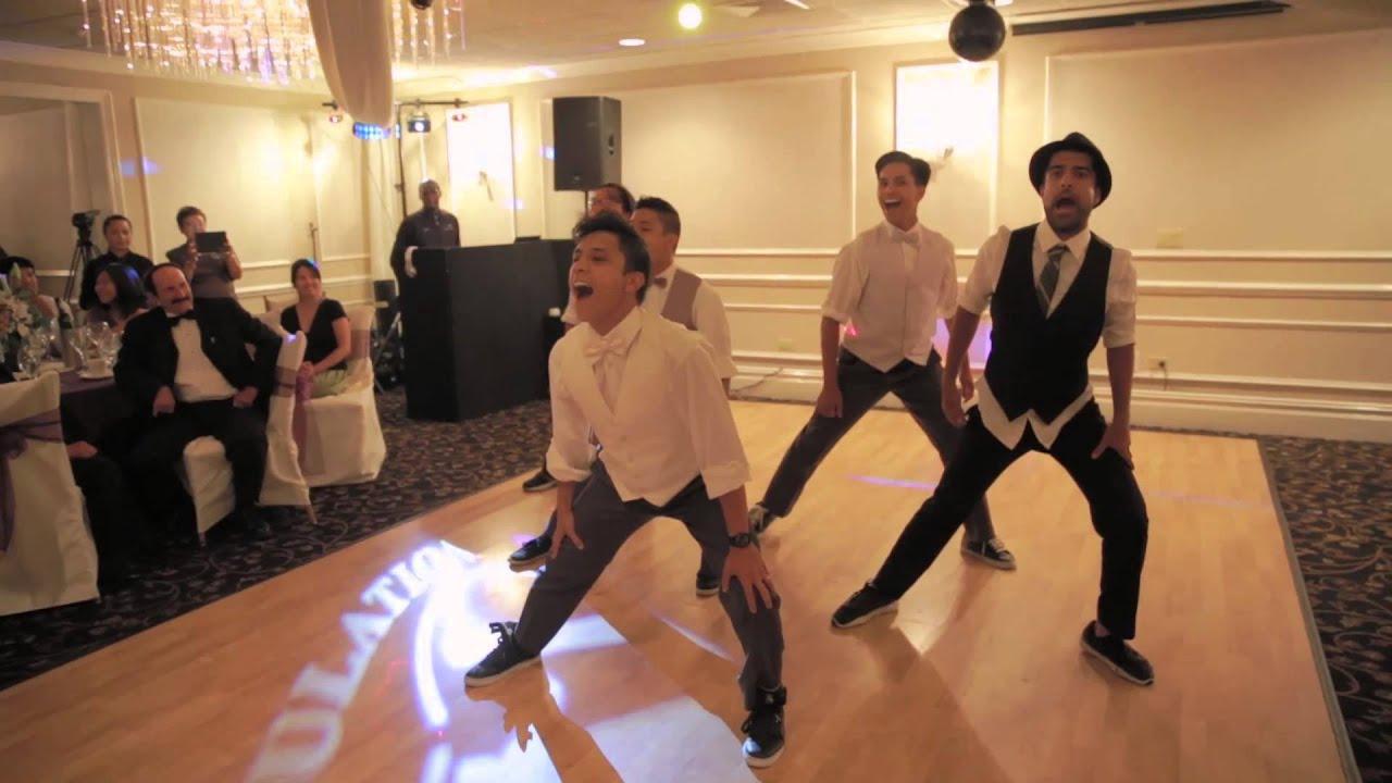 MOST AMAZING GROOMSMEN WEDDING DANCE EVER!! BEST NSYNC ...
