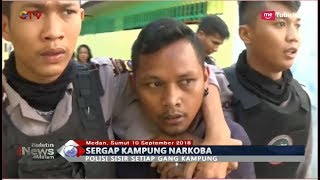 Download Video Penyergapan Kampung Narkoba di Medan, 4 Pengedar Diamankan - BIM 10/09 MP3 3GP MP4
