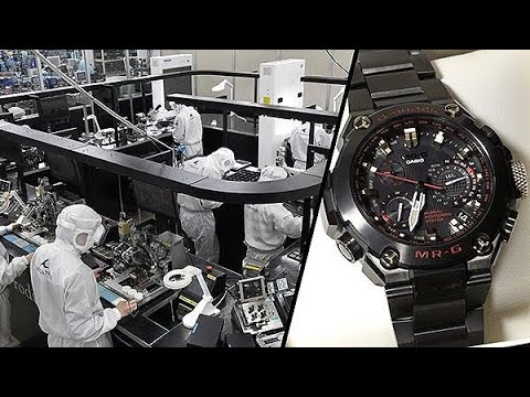 The art of making G-Shock watches