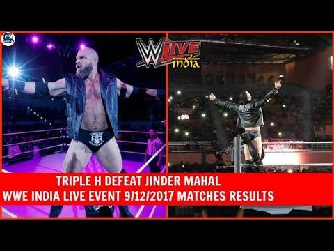 WWE India Live 9/12/2017 Highlights Matches Results | Shield Defeat Bar & Samoa Joe at India