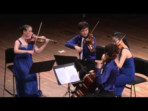 Amici Quartet - NZCT Chamber Music NZ National Contest 2015 V2