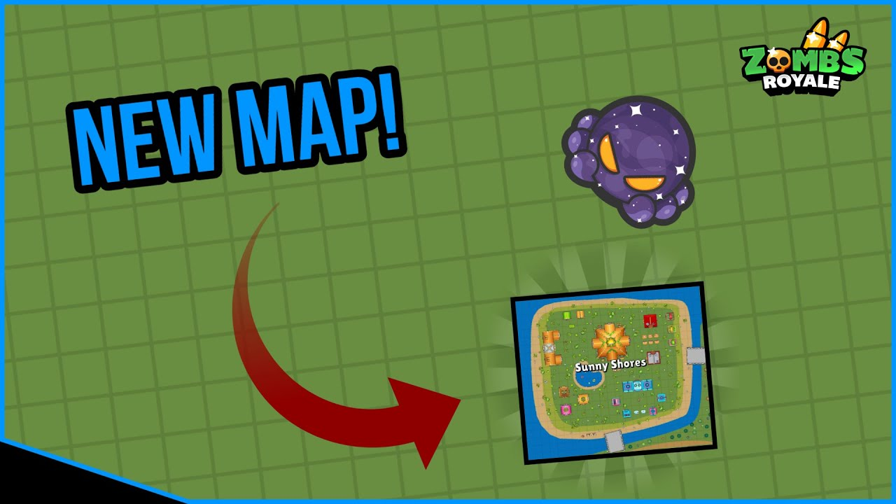 Zombs royale | map update |  sunny shores