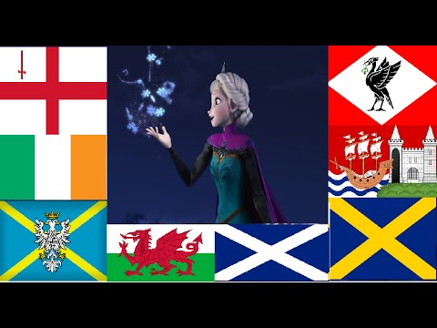 """Frozen: """"Let It Go"""" 11 Languages/Dialects Of The United Kingdom - HD [Soundtrack Version]"""
