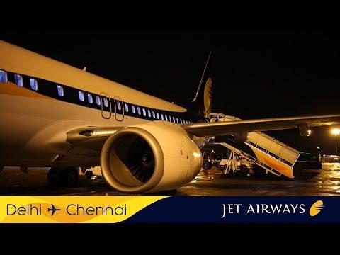 Jet Airways 9W 739 Delhi (DEL) - Chennai (MAA)