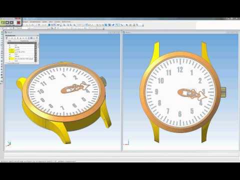 Анимация часы