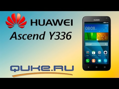 Обзор Huawei Ascend Y336 (Y3C) ◅ Quke ru ▻ - YouTube