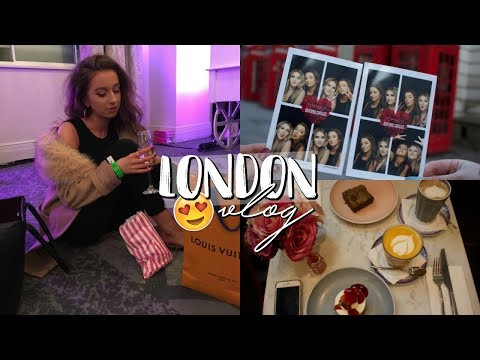 LONDON VLOG 2018 | Luxury Shopping & Elle Darby's 100k Subscriber Party