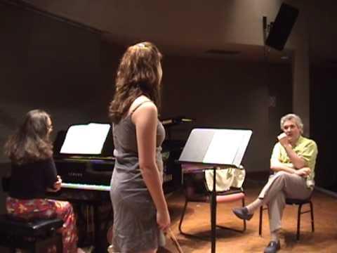 Jessica Linnebach plays Faure for Pinchas Zukerman