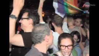 VIDEO:ELATION AS NEW YORK LEGALIZES GAY MARRIAGE!!
