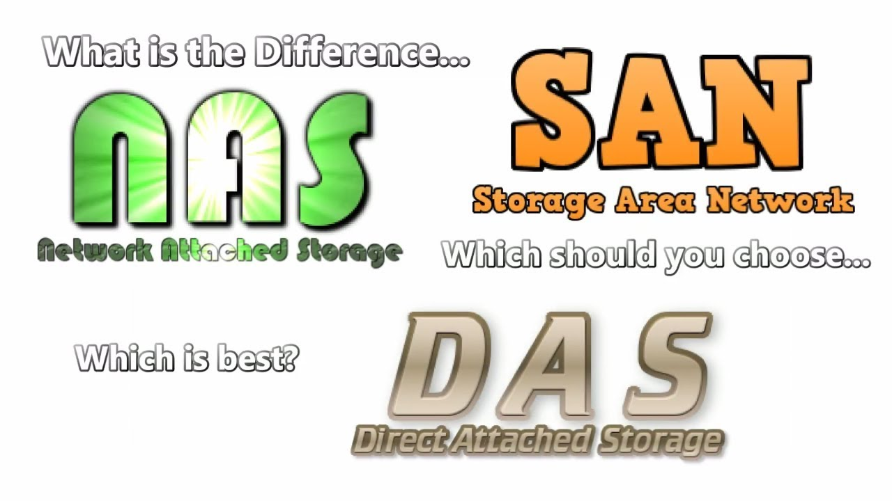 What Is The Difference Between NAS, SAN And DAS   Help You Choose Which One  Is Right For You?