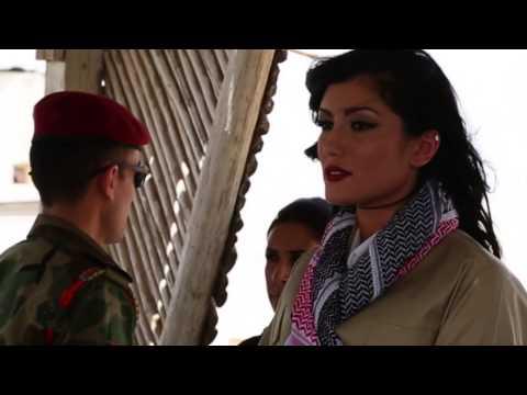 HELLYLUV VISITING THE KURDISH PESHMARGA FORCES FIGHTING AGAINST ISIS