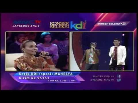 "Mahesya "" Gadis Malaysia "" Pekanbaru - Konser Seleksi KDI 2015 (4/4)"