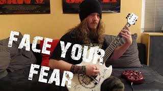 Ektomorf - Face Your Fear (Guitar Cover by FearOfTheDark)